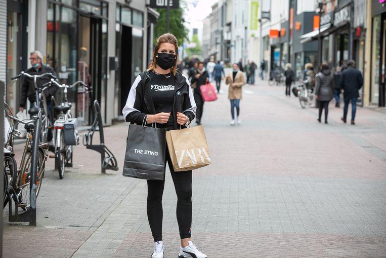 De winkelstraat in Hasselt. De provinciehoofdstad scoort het hoogst wat het aantal dossiers betreft.