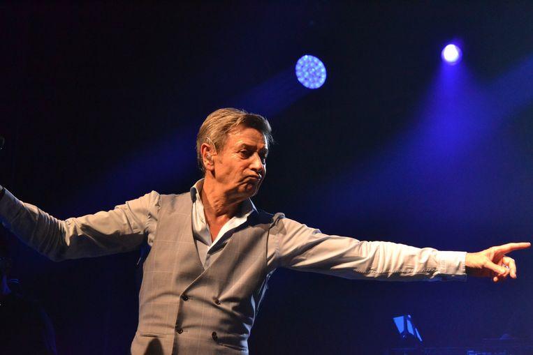 Ook Willy Sommers (hier tijdens een concert in Wetteren) is van de partij op Nacht van de Ambiance.