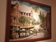 Schilderij van Zaki in Amsterdam Museum