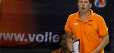 Volleyballers verliezen nipt van Oekraïne