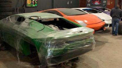 Vader en zoon gearresteerd in Brazilië voor het namaken van Ferrari's en Lamborghini's
