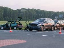 Man raakt gewond na meervoudige aanrijding tussen Bant en Lemmer
