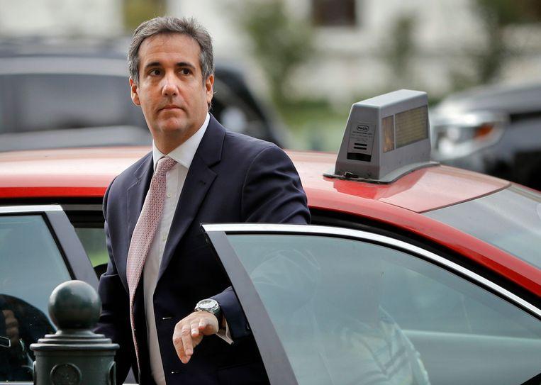 Michael Cohen, de voormalige advocaat van Donald Trump. Beeld AP
