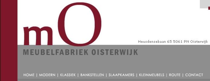 Meubelfabriek Oisterwijk.