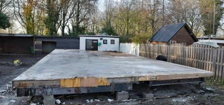 In oktober ontmantelde drugslaboratoriums op woonwagenkamp in Tilburg vernietigd