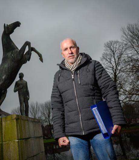 Eeuwige dwarsligger Leo Janssen is garantie voor trammelant in de Hengelose politiek