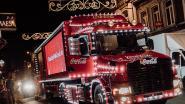 Coca-Cola-kersttruck houdt twee keer halt in Antwerpen