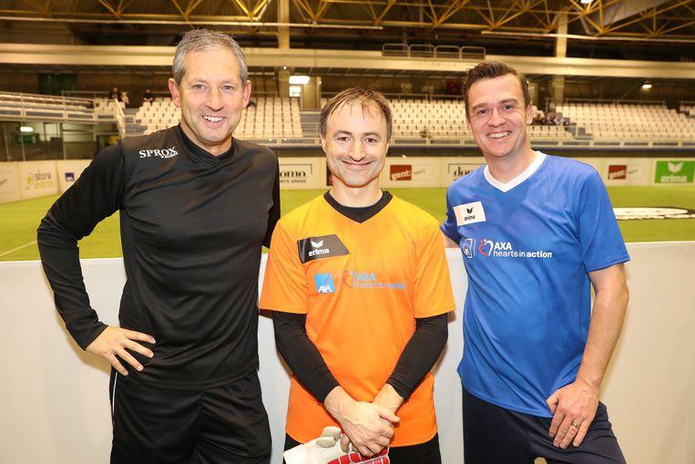 Frank De Bleeckere, Dimitri Leue en Nick Nuyens
