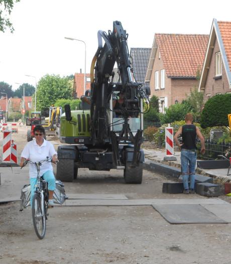 Belangrijke verkeersader door Hooglanderveen kan bijna weer open