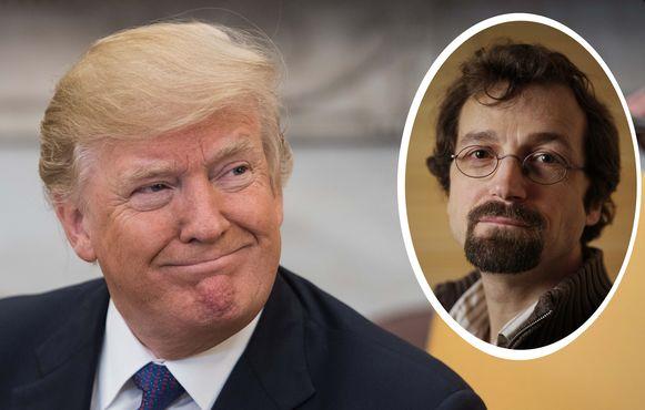 """""""Waar kans was op succes, heeft de Amerikaanse presidant DonaldTrump dat kunnen verzilveren"""", zegt Amerika-kenner Bart Kerremans"""