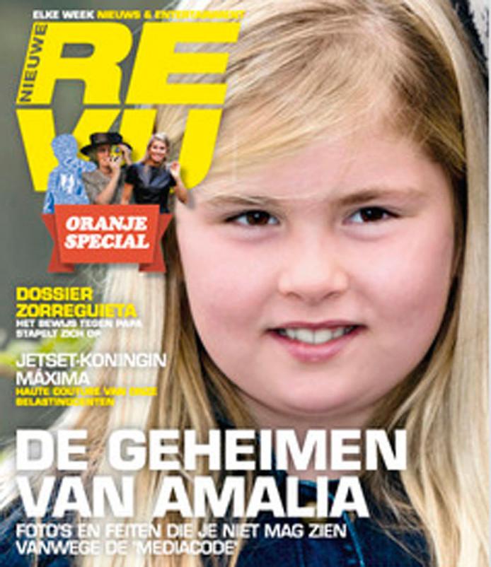 De cover van de Nieuwe Revu deze week