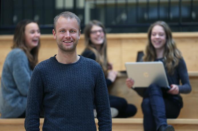Jasper Rijpma werd eerder al verkozen tot beste docent van Nederland.