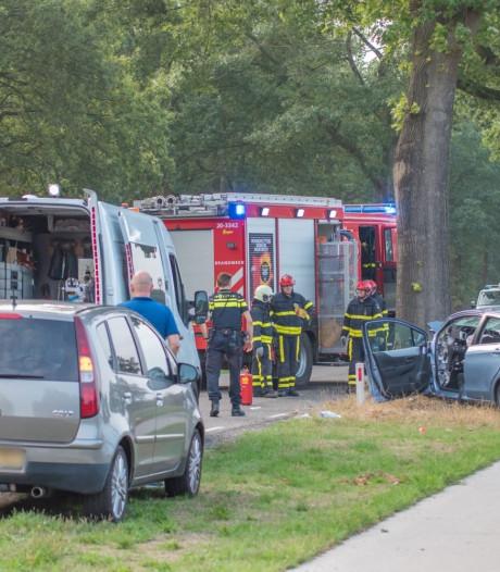 Gewonden na botsing met auto tegen boom in Rucphen