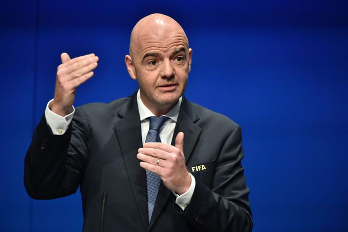 FIFA-voorzitter Gianni Infantino
