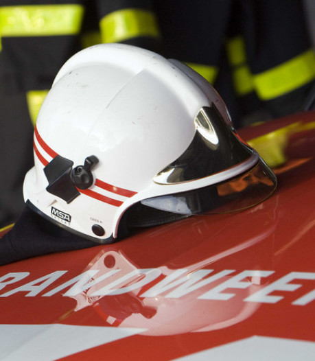 Brandweer rukt uit voor onkruidverdelger