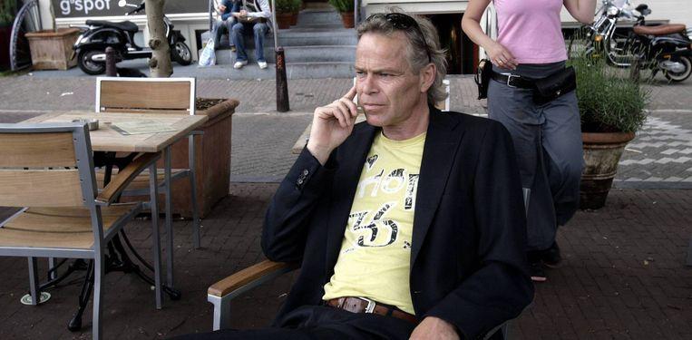 De condoleances stromen binnen op het register dat de Volkskrant heeft geopend op zijn website voor de woensdag overleden columnist Martin Bril. Foto Peter Elenbaas Beeld