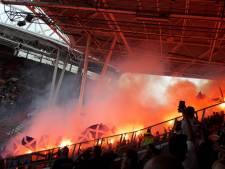 Justitie: vervolging voor voetbalsupporter die vuurwerkverbod overtreedt