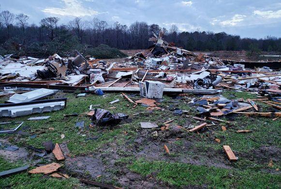 Onder meer in de staat Louisiana is de schade groot.
