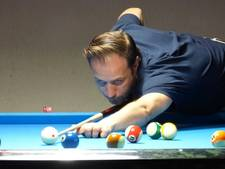 Wisselend succes in de eredivisie voor poolbiljarters Woensel