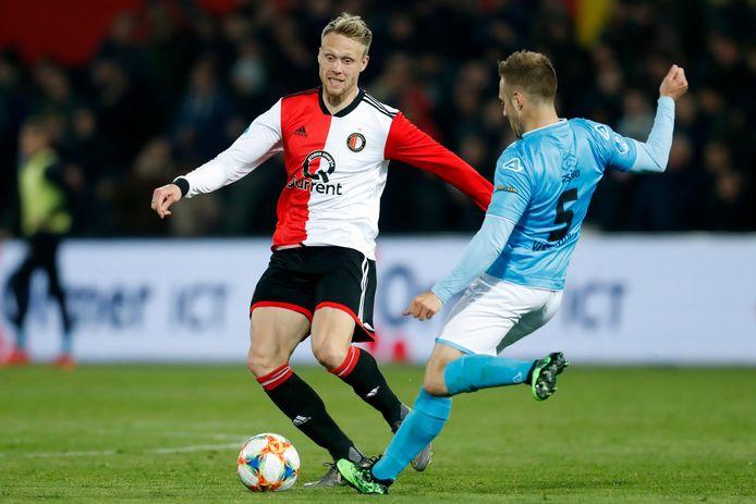 Nicolai Jørgensen kampt nog altijd met een knieblessure.