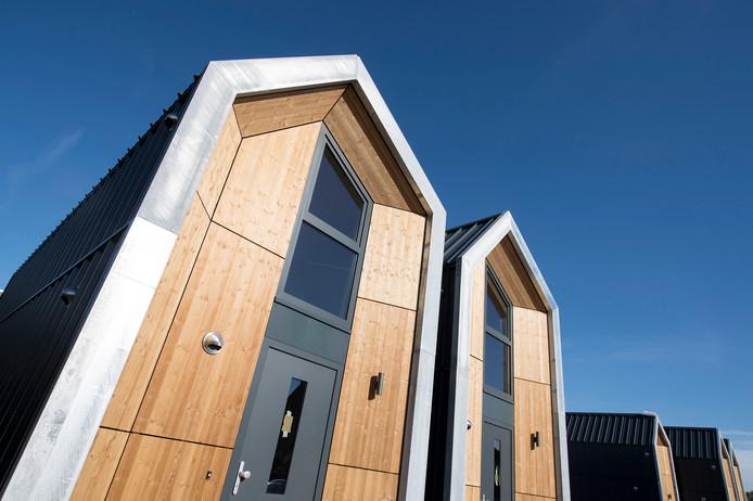 De PvdA in Meierijstad wil meer kleine woningen, zoals die bijvoorbeeld al enkele jaren in Schijndel staan.