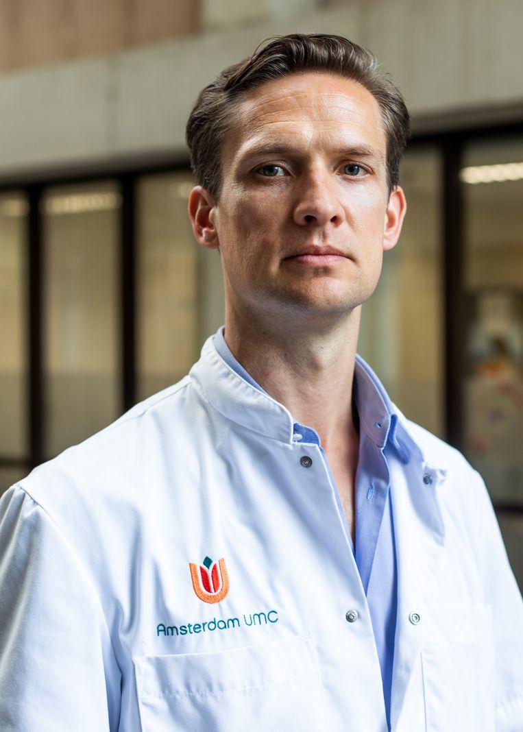 Harald Jorstad hoopt dat meer aandacht voor preventie het aantal behandelingen kan verminderen. Beeld Lin Woldendorp