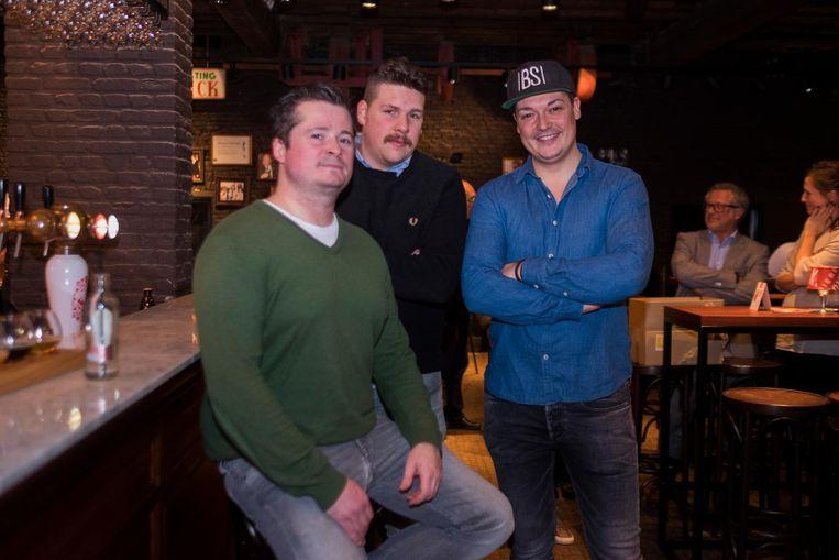 Tekenen ook present op Antwerpen Proeft: Dave Bosmans, Vadim Vesters en Matthias Jacobs van Black Smoke.