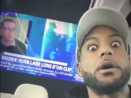 L'étrange réaction de Booba après une fusillade sur le tournage de son clip