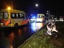 Twee mannen gewond na botsing tussen scooter en voetganger in Oss