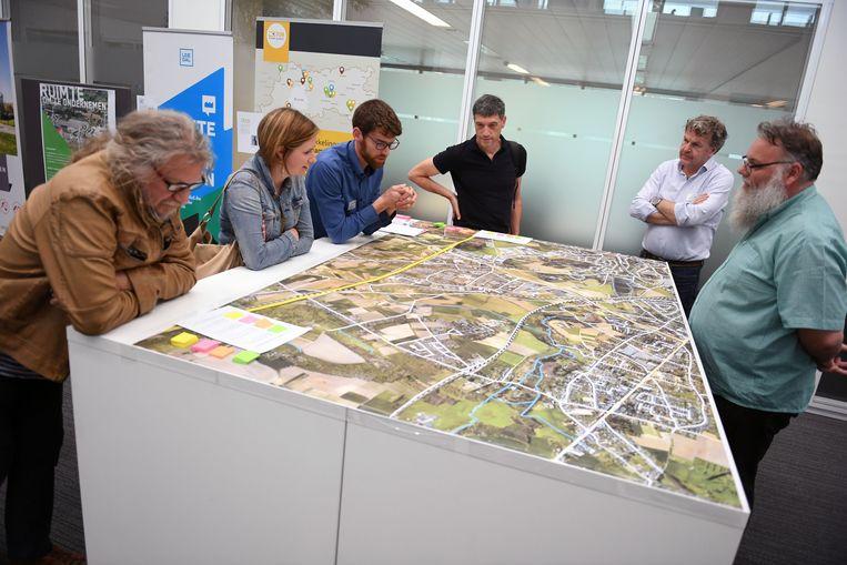 Bewoners en bedrijven denken mee over een circulaire toekomst voor bedrijventerrein Haasrode