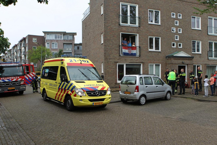 Brandweer, ambulance en politie kwamen ter plaatse.