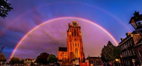 Metallica en Queen op de Grote Kerk in Dordrecht
