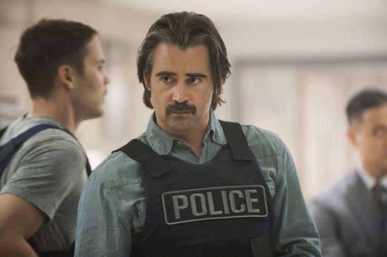 Colin Farrell in het tweede seizoen van 'True Detective'.