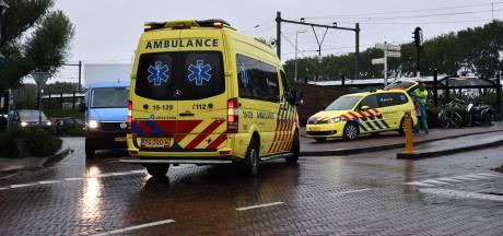 Scooterrijder gewond bij ongeluk in Oost-Souburg