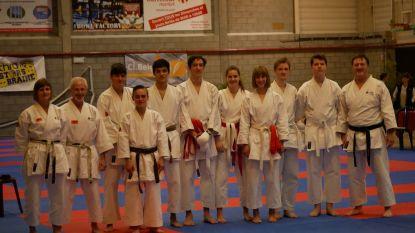 'Shoku-Kan' gooit hoge ogen op Belgisch Kampioenschap Karate