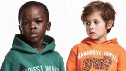 Kritiek op H&M na foto van jongen in apentrui