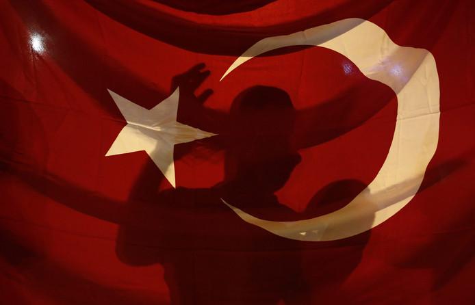 De Turkse vlag. Foto: EPA