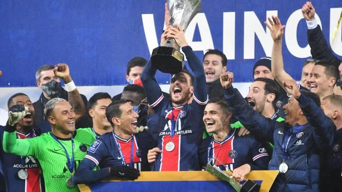 Eerste prijs onder Pochettino is binnen: PSG wint Franse Supercup na zege tegen Olympique Marseille
