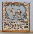 De gevelstenen van de Grote Spuistraat uit 1956.