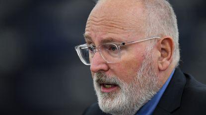 """Frans Timmermans wil voorzitter van Europese Commissie worden"""