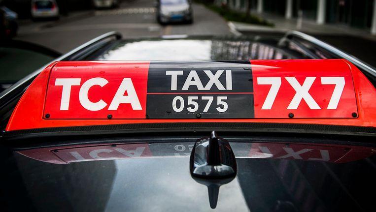 Voor taxi's is ook de extra route Leidseplein/Marnixstraat/Weteringschans nu afgesloten Beeld ANP