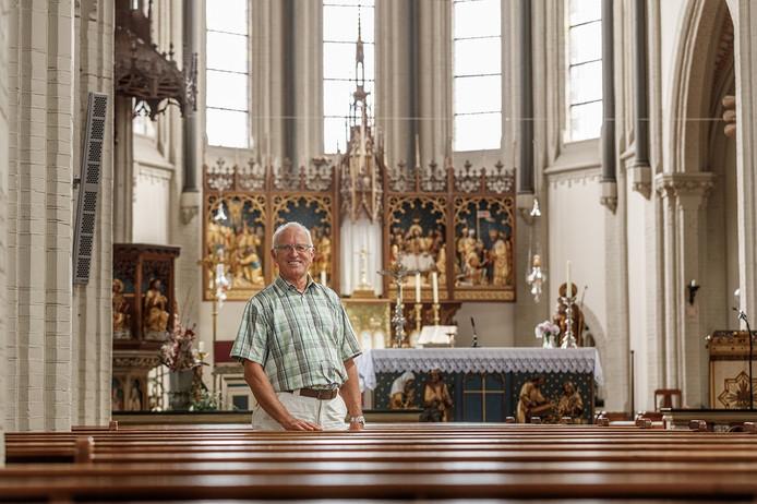 Ad Huijsmans van de Georgiuskerk in Kruisland