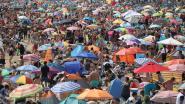 Ongeziene drukte op Britse stranden, alarmfase rood afgekondigd