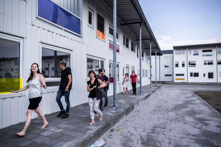 Studentenwoning Riekerhaven beschoten met luchtbuks