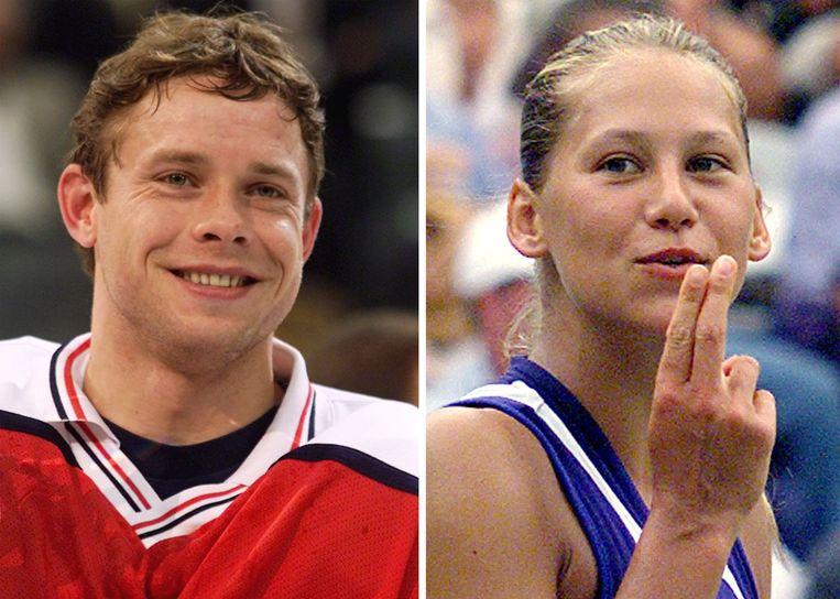 IJshockeyster Pavel Bure was (even) verloofd met Anna Kournikova.