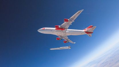 Lancering van Virgin Orbit-raket mislukt