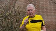 """""""In mijn 42 jaar als scheidsrechter trok ik nog maar vijf rode kaarten"""": Eddy is 70 maar blaast nog elk weekend op zijn fluitje"""