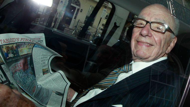 Rupert Murdoch. Beeld REUTERS
