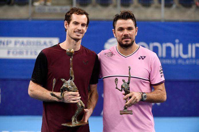 Andy Murray et Stan Wawrinka.