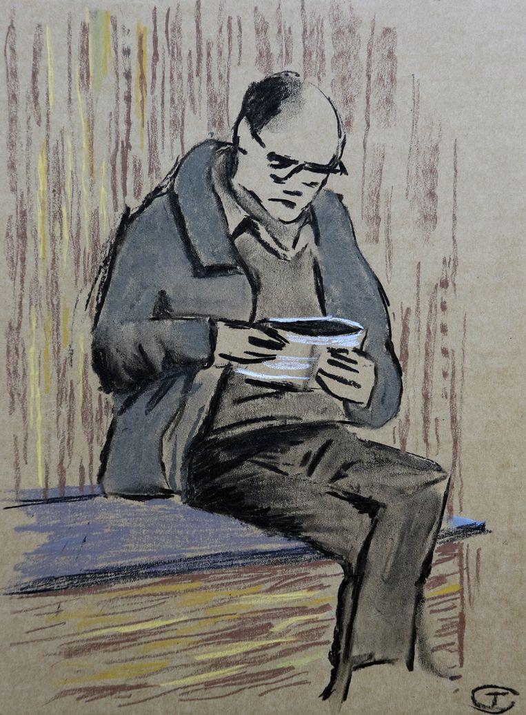 De eerste tekening van Tom Clement.